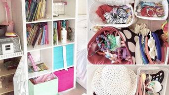 Girl's Bedroom Declutter & Organisation