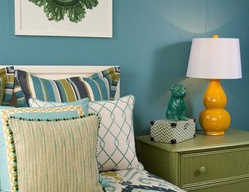Girl's Bedroom -  Decorating Den Interiors