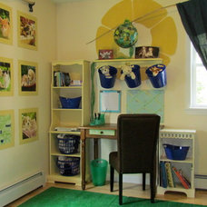 Eclectic Bedroom by Randall Design