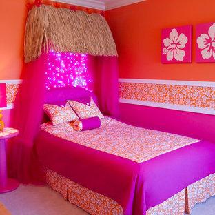 Girl's Hawaiian Theme Bedroom