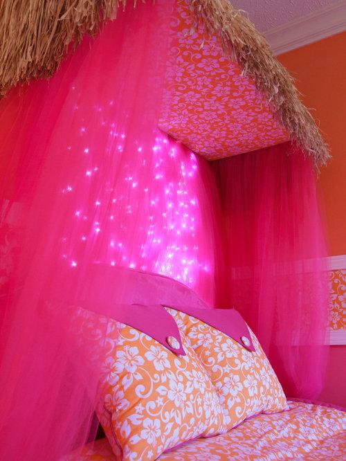 girls hawaiian theme bedroom