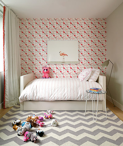 Modern Bedroom by Bella Mancini Design