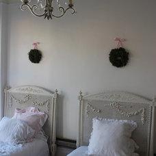 Eclectic Bedroom girls' room