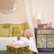 Eclectic Bedroom by Rachel Oliver Design, LLC