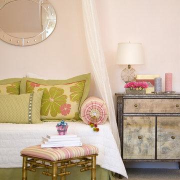 Glam & Pink Girl's Bedroom