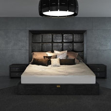 Modern Beds by EuroLux Furniture