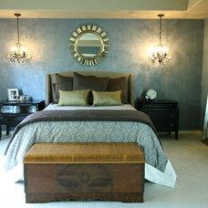 Contemporary Bedroom by Whirlygig Designs