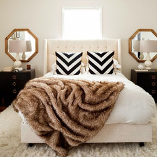 Transitional Bedroom by JWS Interiors