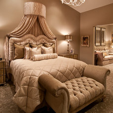 Traditional Bedroom by Feathers Fine Custom Furnishings