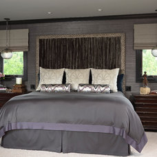 Contemporary Bedroom by Lucy Interior Design