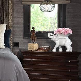 Trendy bedroom photo in Minneapolis