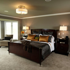 Traditional Bedroom by Jaque Bethke for PURE Design Environments Inc.