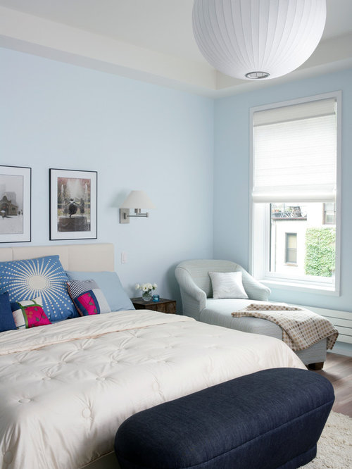 Soft Blue Wall Color Houzz