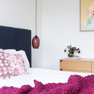 Foto di una camera da letto scandinava