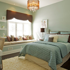 traditional bedroom by Gordana Car Interior Design Studio