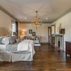 Transitional Bedroom by Millworks Designs