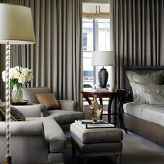 contemporary bedroom by Glenn Gissler Design