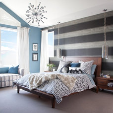 Contemporary Bedroom by Atelier Interior Design