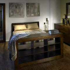 contemporary bedroom by Global Living