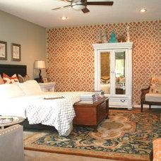 Eclectic Bedroom by Renee Lewis Designs