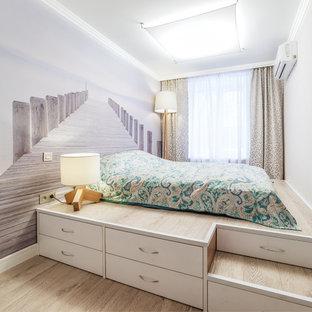 Ispirazione per una camera da letto contemporanea