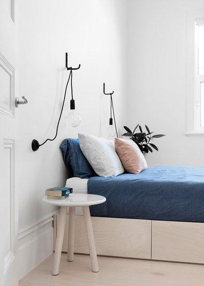 Scandinavian Bedroom by Fido Projects
