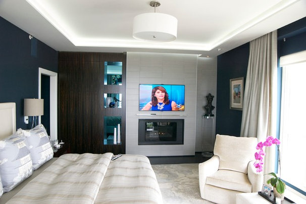 Contemporary Bedroom by Punch Construction