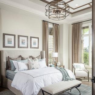 На фото: спальни в средиземноморском стиле