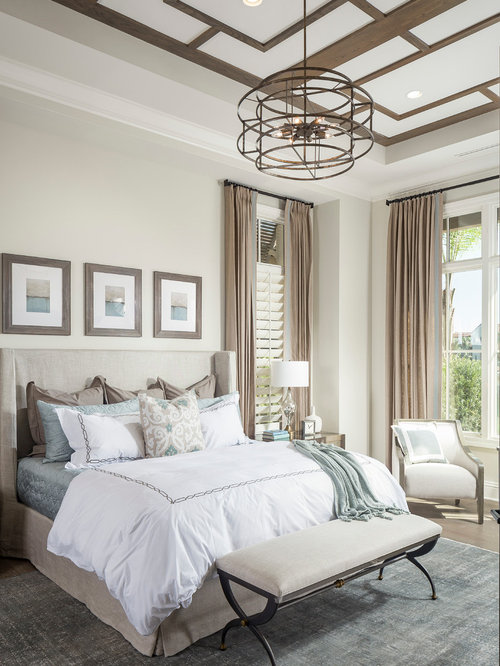 Mediterranean bedroom design ideas remodels photos houzz - Bed design pics ...