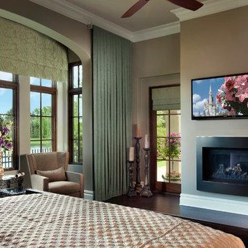 Golden Oak Spanish Revival Residence -2
