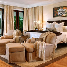Eclectic Bedroom by tuthill architecture