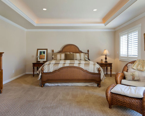 Tray ceiling home design ideas pictures remodel and decor Master bedroom ceiling colors