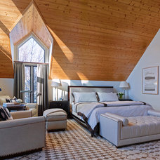 Contemporary Bedroom by WRJ Design