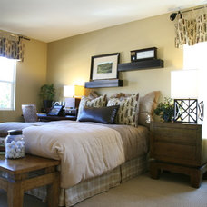 Traditional Bedroom by Coastal Decor, Nicole Rice