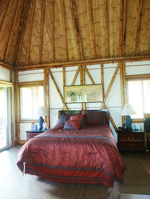 chambre exotique avec un sol en vinyl photos et id es d co de chambres. Black Bedroom Furniture Sets. Home Design Ideas