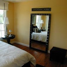 Traditional Bedroom by Laura Manning Bendik