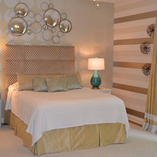 Contemporary Bedroom by Jennifer Estes Interior Design