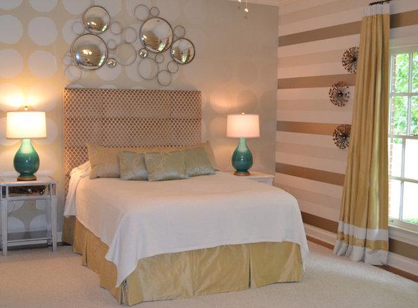 Contemporary Bedroom by Jennifer Estes Interior Design