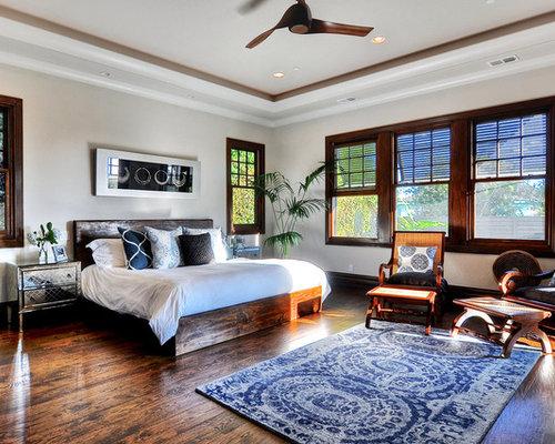 kolonialstil schlafzimmer ideen design houzz. Black Bedroom Furniture Sets. Home Design Ideas