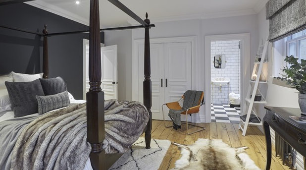 Contemporary Bedroom by Cherie Lee Interiors