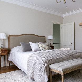 Camera da letto con parquet scuro Londra - Design, Foto e ...
