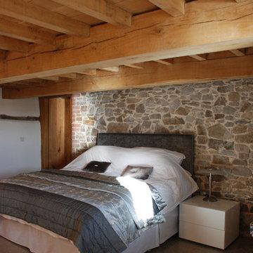 Grade II* Listed Medieval Barn Conversion, Bude, Cornwall, UK