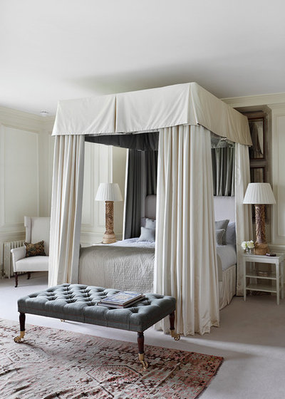 Traditional Bedroom by VSP Interiors