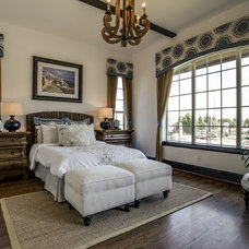 Mediterranean Bedroom by JE Design Group, Inc