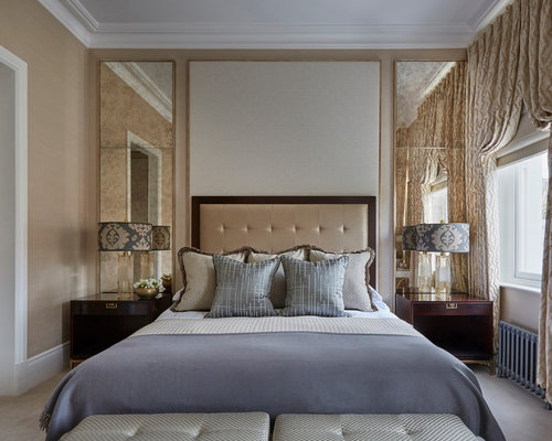 Houzz Bedroom Carpet Victorian Design Ideas Remodels Photos With