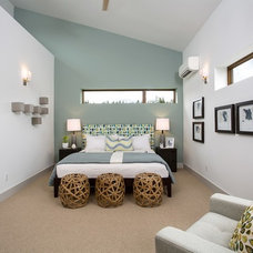Contemporary Bedroom by Evoke