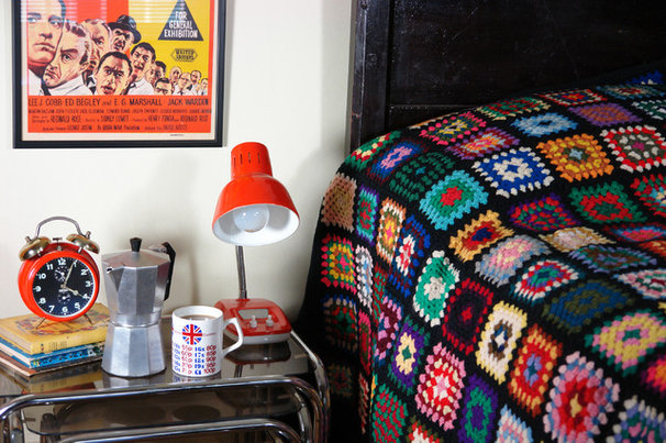 Eclectic Bedroom by H is for Home