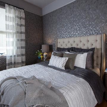 Gray & Moody Bedroom
