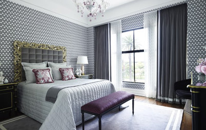 Houzz Tour: Historical High-Rise in Sydney Goes Glam