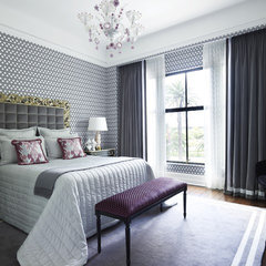 contemporary bedroom by Greg Natale